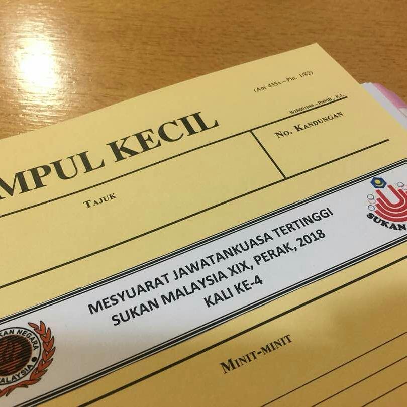 Mesyuarat Jawatankuasa Tertinggi Sukan Malaysia XIX Perak 2018 Kali Ke-4. Kredit Foto - Facebook.com/sukmaperak2018