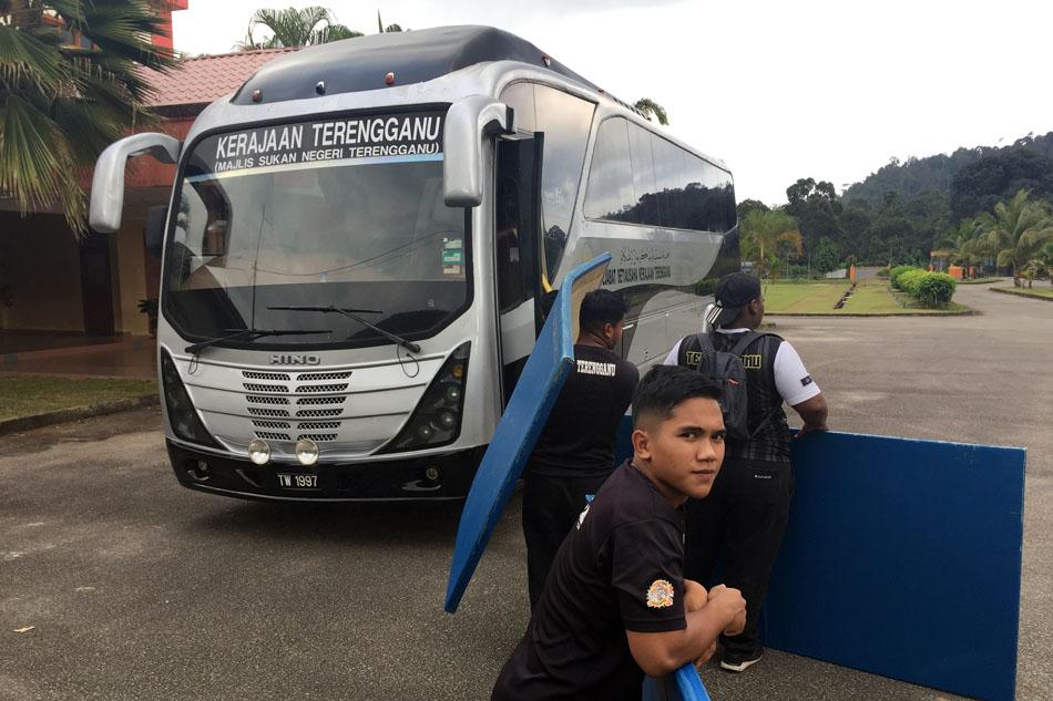 Kerajaan Negeri Terengganu melalui pihak Majlis Sukan Negeri Terengganu yang sentiasa memberikan bantuan & kemudahan kepada persatuan sukan di negeri ini. Kredit Foto - PenyuSukan.com
