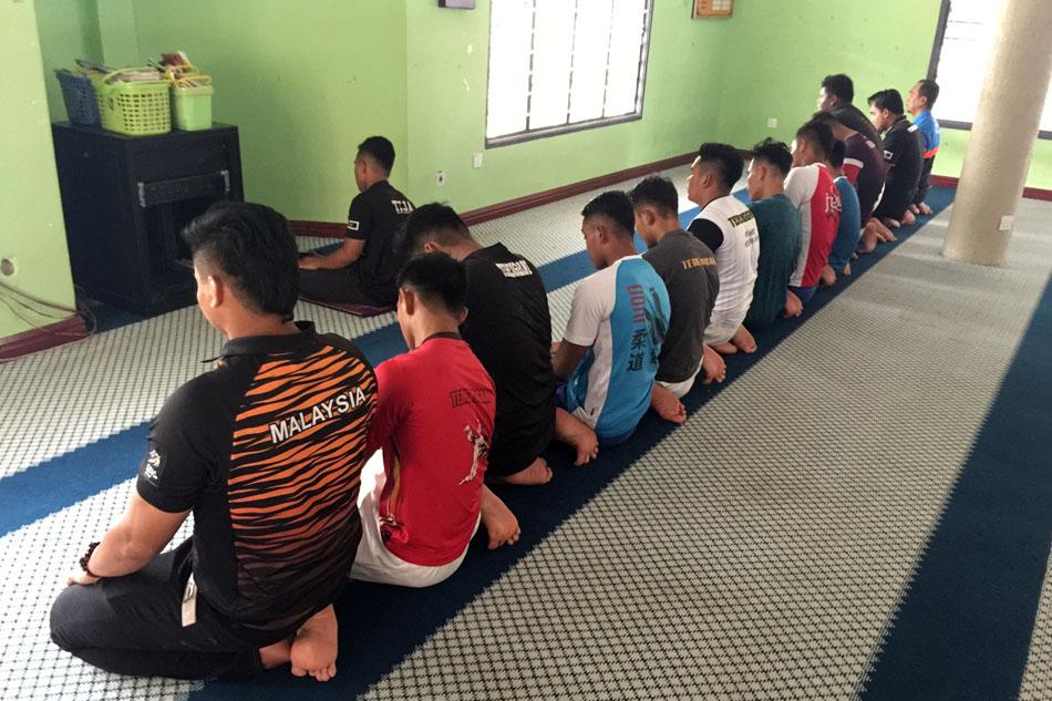 Penerapan nilai-nilai kerohanian kepada atlet juga turut sama disertai oleh barisan jurulatih dan kepimpinan dalam persatuan Persatuan Judo Negeri Terengganu(TEJA). Kredit Foto – PenyuSukan.com