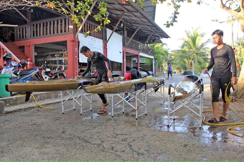 Persatuan Kanu Negeri Terengganu tetap meneruskan program pembangunan dan latihan sehingga ke hari ini walaupun tidak dipertandingkan di peringkat Sukan Malaysia(SUKMA).