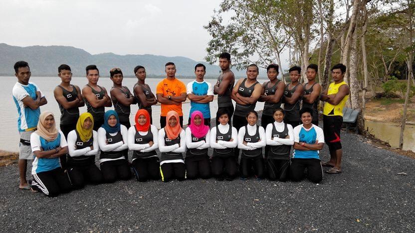 Persatuan Kanu Negeri Terengganu tetap meneruskan rutin latihan & program pembangunan sehingga ke hari ini. Kredit Foto - Facebook.com/Persatuan-Kanu-Negeri-Terengganu-211893535550334/