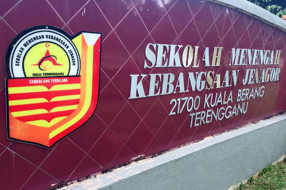 SMK Jenagor julung kali menerima kunjungan dari pihak Persatuan Judo Terengganu(TEJA)