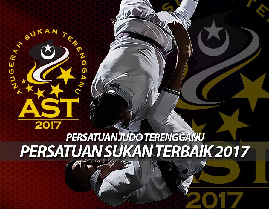 Persatuan Judo Negeri Terengganu(TEJA) dinobatkan selaku Persatuan Sukan Terbaik 2017 dalam penganugerahan Anugerah Sukan Terengganu 2017