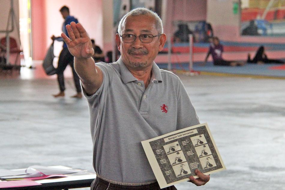 Anak jati Terengganu, Haji Mohd Yunos bin Ibrahim merupakan salah seorang pakar fisiologi sukan yang banyak membantu kejayaan para atlet di negeri Terengganu. Kredit Foto - PenyuSukan.com