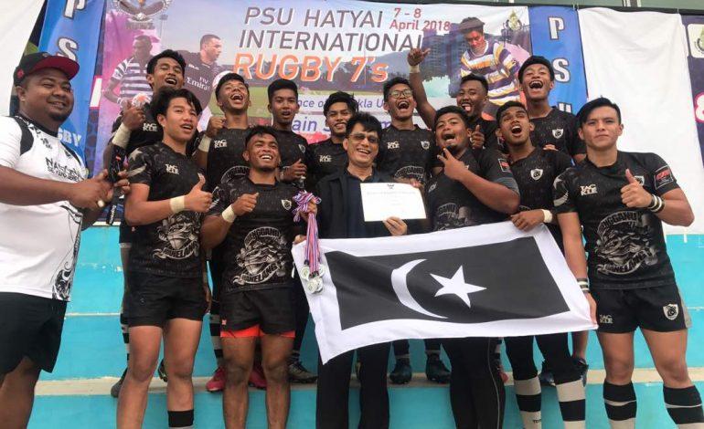 Ragbi: Skuad SUKMA Cemerlang di Hatyai 7s