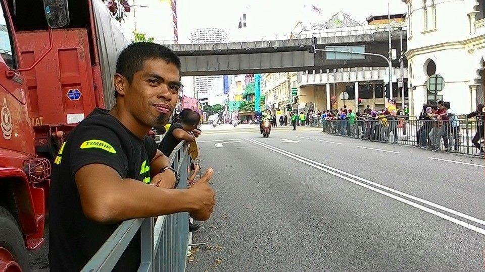 Muhammad Labib bin Mohamed Aripin; Jurulatih skuad basikal lasak Terengganu yang akan mempertahankan pingat emas di SUKMA Perak 2018 nanti. Kredit Foto - Facebook.com/labib.aby.5