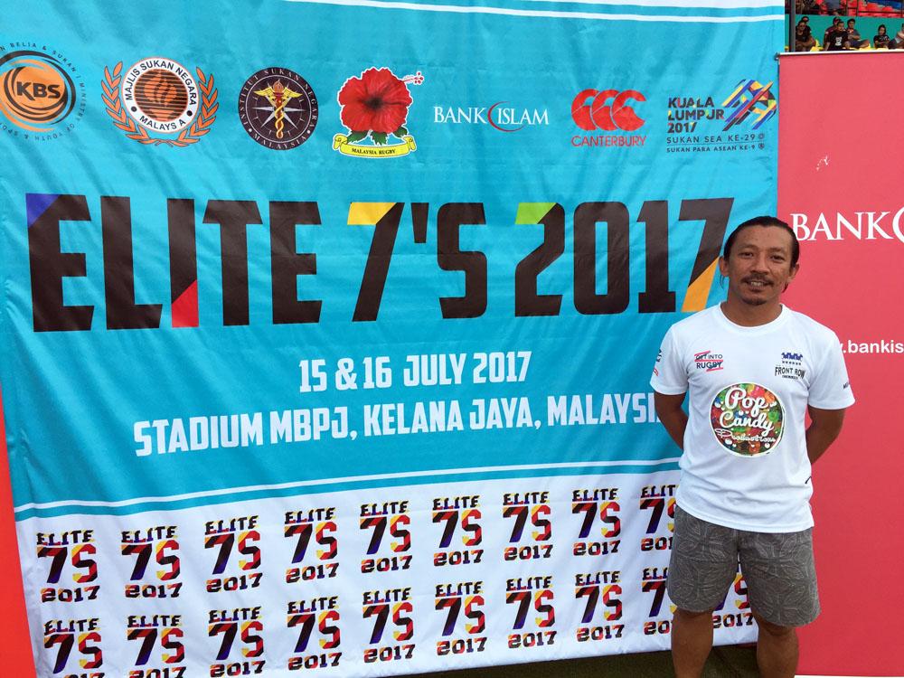 Pidot selaku jurulatih berpengalaman dalam mengendalikan beberapa pasukan ragbi wanita ternyata mempertaruhkan semua pengalamannya di dalam pasukan negeri Terengganu ini. Kredit Foto - Sukandaily.com.my