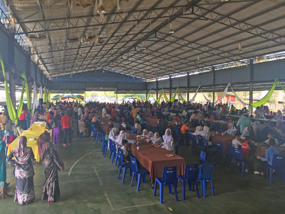 PenyuSukandotcom - Majlis Sambutan Hari Raya Aidilfitri Majlis Sukan Negeri Terengganu 2018