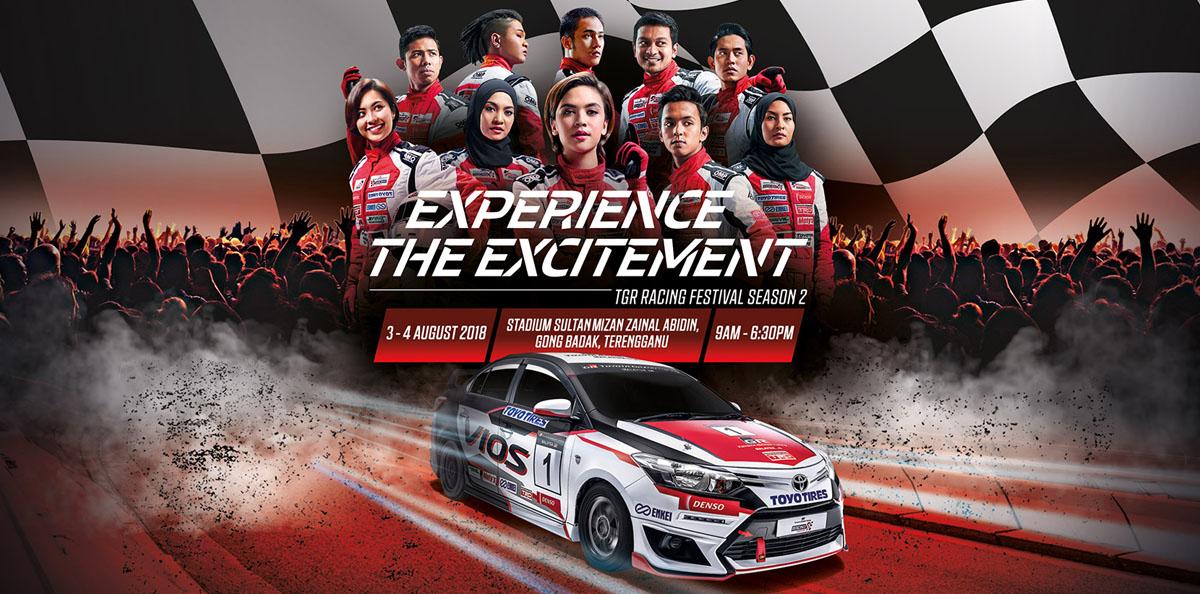 Kuala Terengganu menjadi pilihan untuk membuka kalendar festival perlumbaan Vios Challenge musim kedua ini pada 3 & 4 Ogos 2018. Kredit Foto - https://toyota.com.my/tgrmalaysia