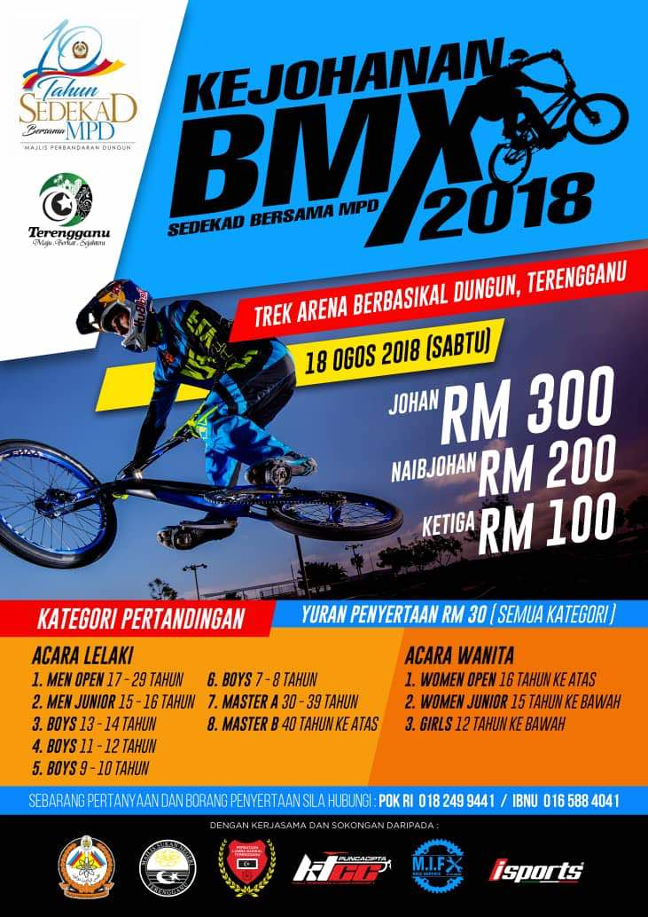 PenyuSukandotcom - Kejohanan BMX Majlis Perbandaran Dungun 2018
