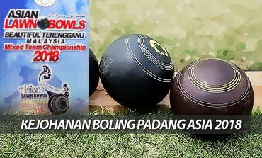 118 'Bowlers' Asia Berkampung Di Gong Badak