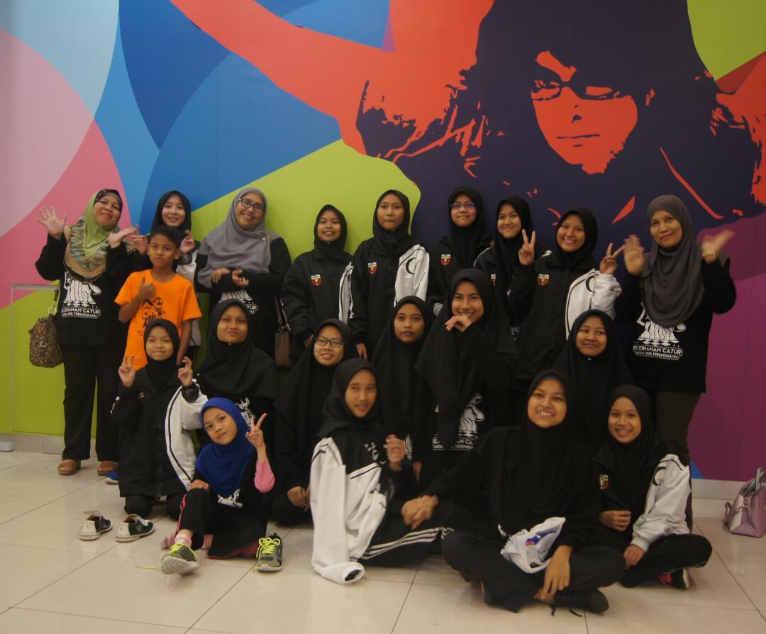 Skuad Catur Majlis Sukan Sekolah Negeri Terengganu turut menjadi tuan rumah kepada penganjuran Kejohananan Catur Majlis Sukan Sekolah Malaysia (MSSM) 2018. Kredit Foto - Cikgu Rohaiza Abdullah/MSSM Terengganu