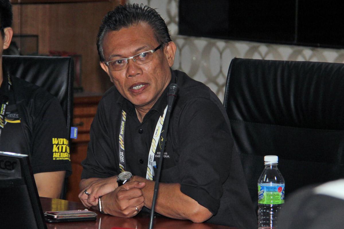 Timbalan Presiden Kesatuan Ragbi Perak; Encik Shamsul Munir Zaini. Kredit Foto - PenyuSukan.com