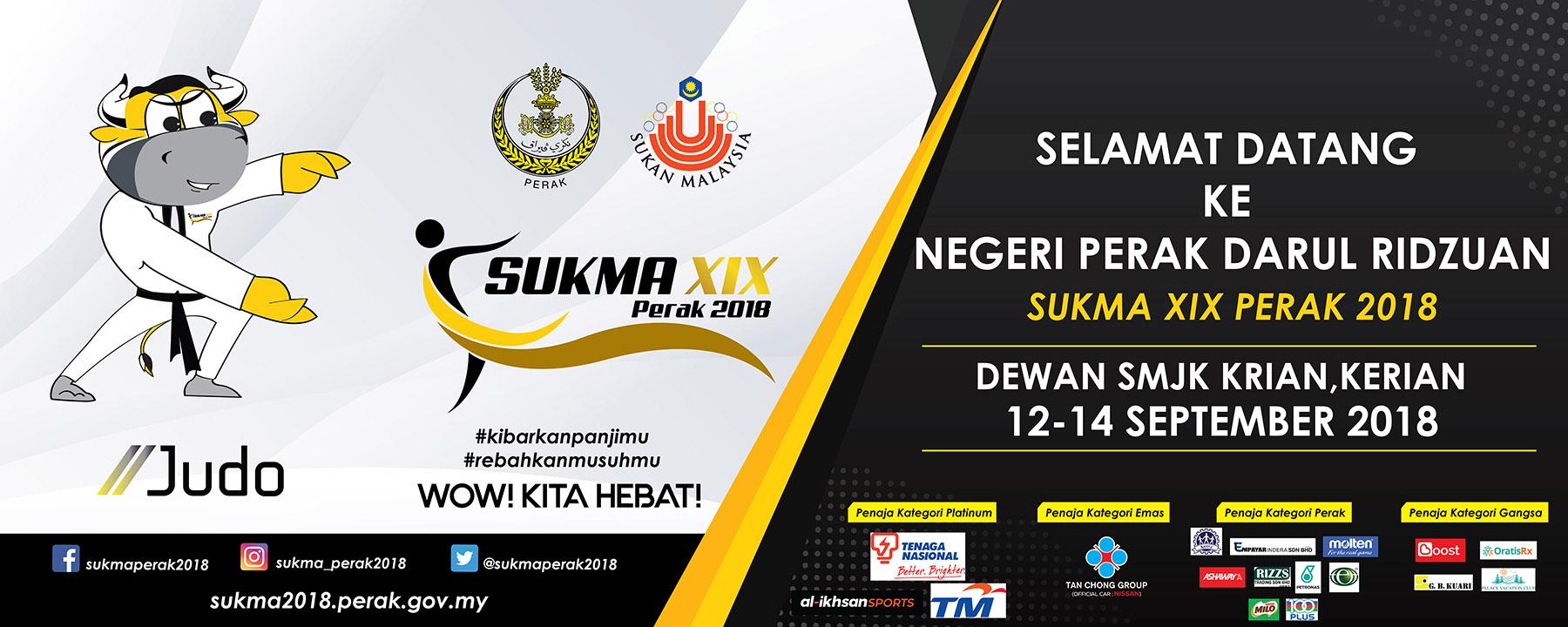 PenyuSukandotcom - Sukan Malaysia SUKMA Perak 2018 -Terengganu Hanelang - Judo