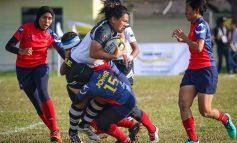 SUKMA 2018 Ragbi Wanita: Terengganu Hanelang Ikat Johor