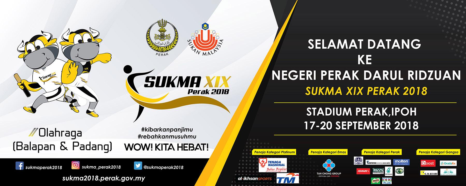 PenyuSukandotcom - Sukan Malaysia SUKMA Perak 2018 - Olahraga Balapan dan Padang Terengganu Hanelang