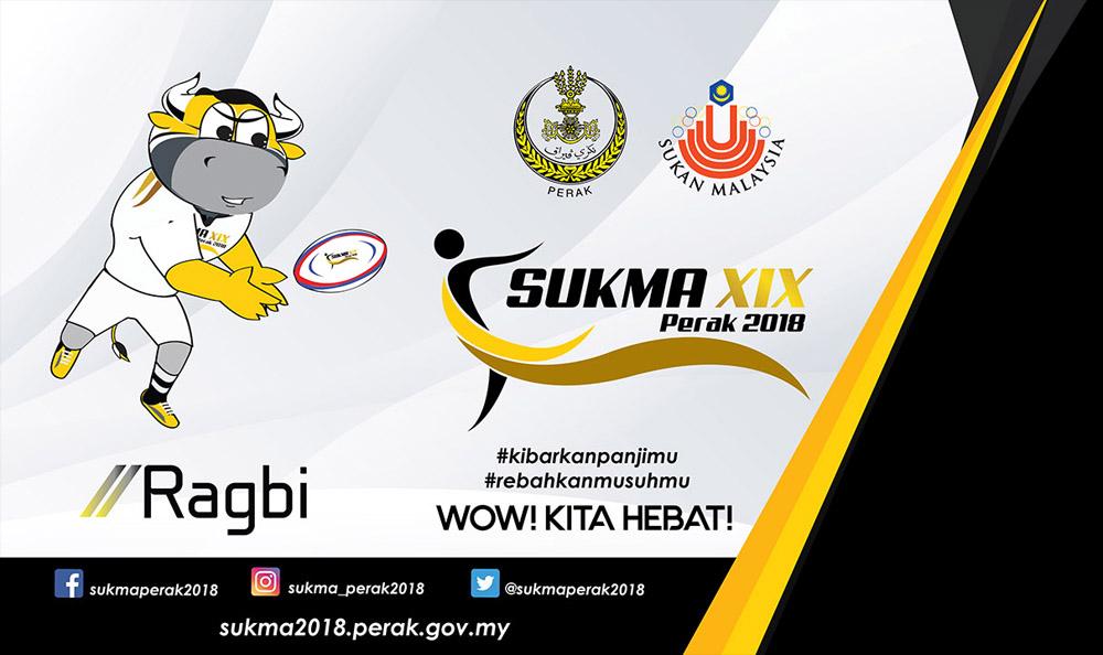 Acara sukan ragbi 7 sepasukan kembali dipertandingkan dalam temasya Sukan Malaysia(SUKMA) Perak 2018 edisi ke-19 setelah kali terakhir dipertandingkan dalam SUKMA KL 2013 edisi ke-16. Kredit – SUKMA2018.perak.gov.my