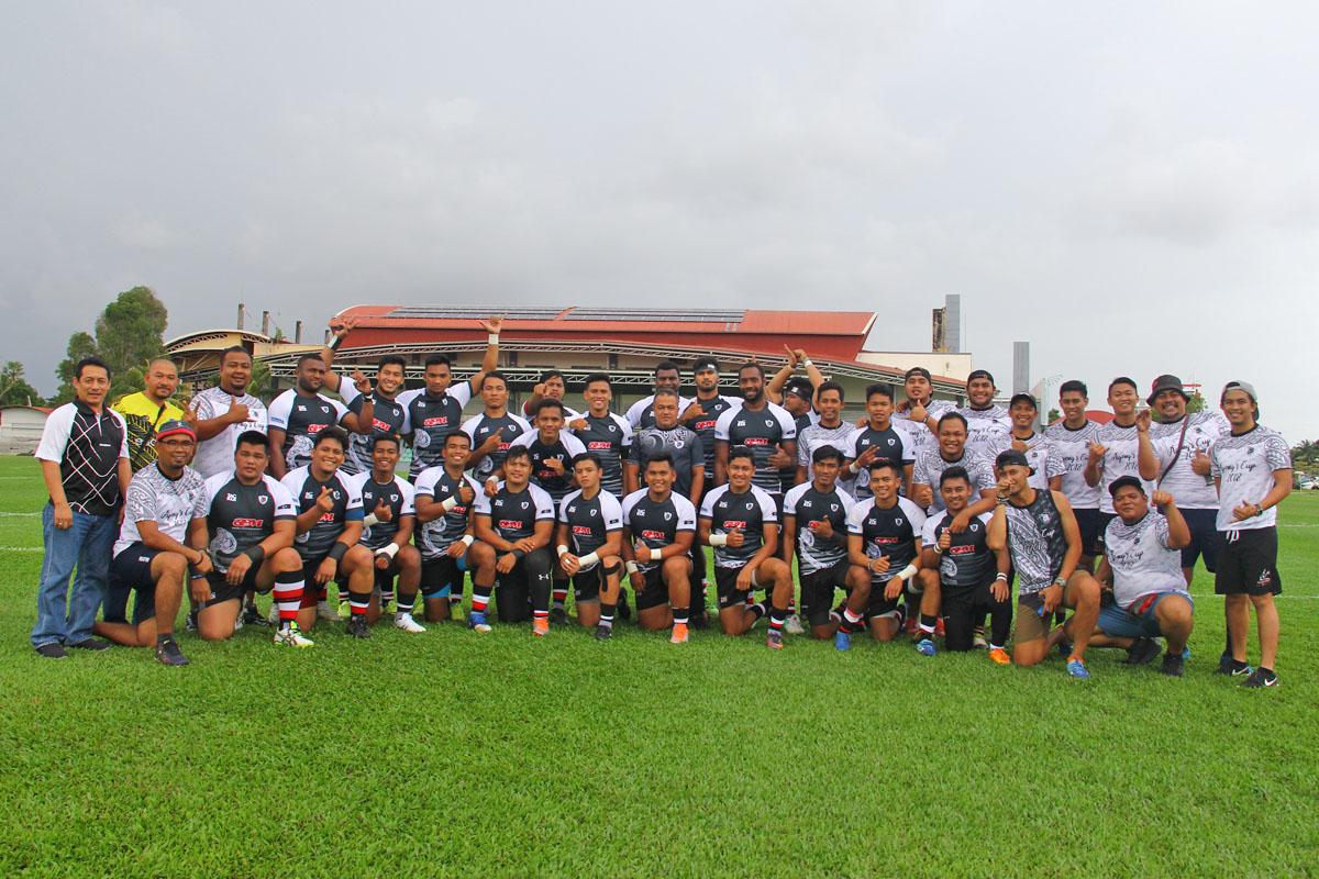 Pasukan ragbi negeri Terengganu bertandang ke Stadium Sultan Abdul Halim untuk bertemu Kedah dalam perlawanan kedua kempen kejohanan ragbi Piala Agong 2018 edisi ke-36. Kredit Foto - PenyuSukan.com