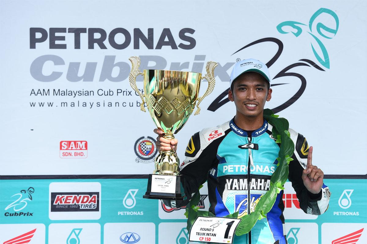 Pelumba anak jati Dungun Ahmad Afif Amran merupakan pelumba bagi pasukan PETRONAS Sprinta Yamaha – CKJ Racing untuk musim 2018 ini.