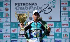 Cub Prix: Pelumba Terengganu Kuasai Litar Gong Badak