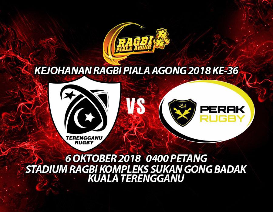 PenyuSukandotcom - Persatuan Ragbi Negeri Terengganu - Kejohanan Piala Agong 2018 - Perlawanan Pertama
