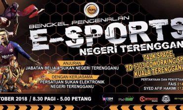 Bengkel Pengenalan E-Sports Negeri Terengganu Capai Matlamat