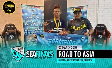 Anak Jati Terengganu Pertama Wakili Malaysia Ke PES SEA Finals