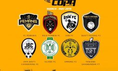 8 Pasukan Warnai Liga Copa Kuala Terengganu 2019