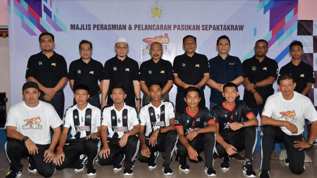 Majlis perasmian dan pelancaran pasukan Terengganu Young Turtles yang telah berlangsung di Dewan Majlis Sukan Negeri Terengganu pada 10 Mac 2019. Kredit Foto - Majlis Sukan Negeri Terengganu.