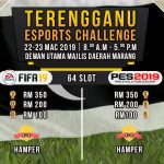 Terengganu ESports Challenge 2019: Pentas Pemilihan Atlet