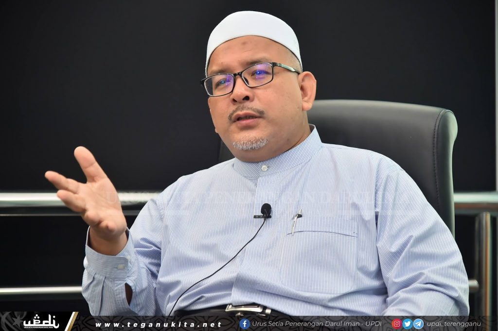 Pengerusi Jawatankuasa Pembangunan Belia, Sukan dan NGO Negeri Terengganu - YB Ustaz Wan Sukairi Wan Abdullah