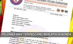 Pelumba BMX Terengganu Berlatih Di Korea