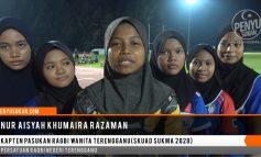 Kapten Pasukan Ragbi Wanita Terengganu Skuad SUKMA 2020