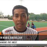 Liga Hoki Remaja Wanita Malaysia 2019 - Mohd Shahrun Nabil Abdullah - Jurulatih MSNT-PHT-MSST