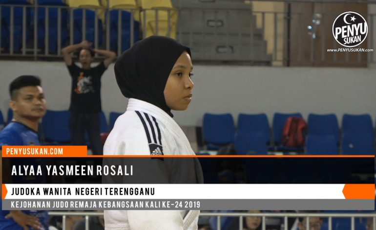 Sorotan Judoko Wanita Terengganu - Alyaa Yasmeen Rosali