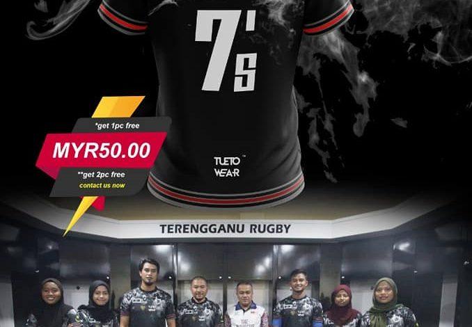 Tshirt Edisi Khas Skuad Ragbi Wanita Terengganu