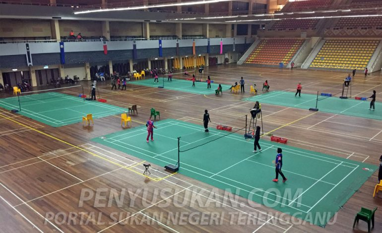 SUTERA: Kuala Terengganu & Kuala Nerus Dominasi Kejohanan Badminton