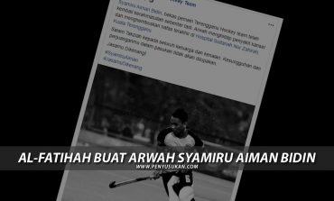Al-Fatihah buat Arwah Syamiru Aiman