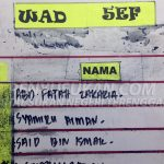 Penyu Sukan - Persatuan Hoki Terengganu - Al-Fatihah Buat Arwah Syamiru Aiman Bidin - Wad 5EF
