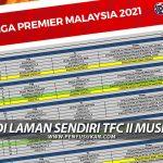 Liga Premier 2021: 10 Aksi Perlawanan Menanti TFC II