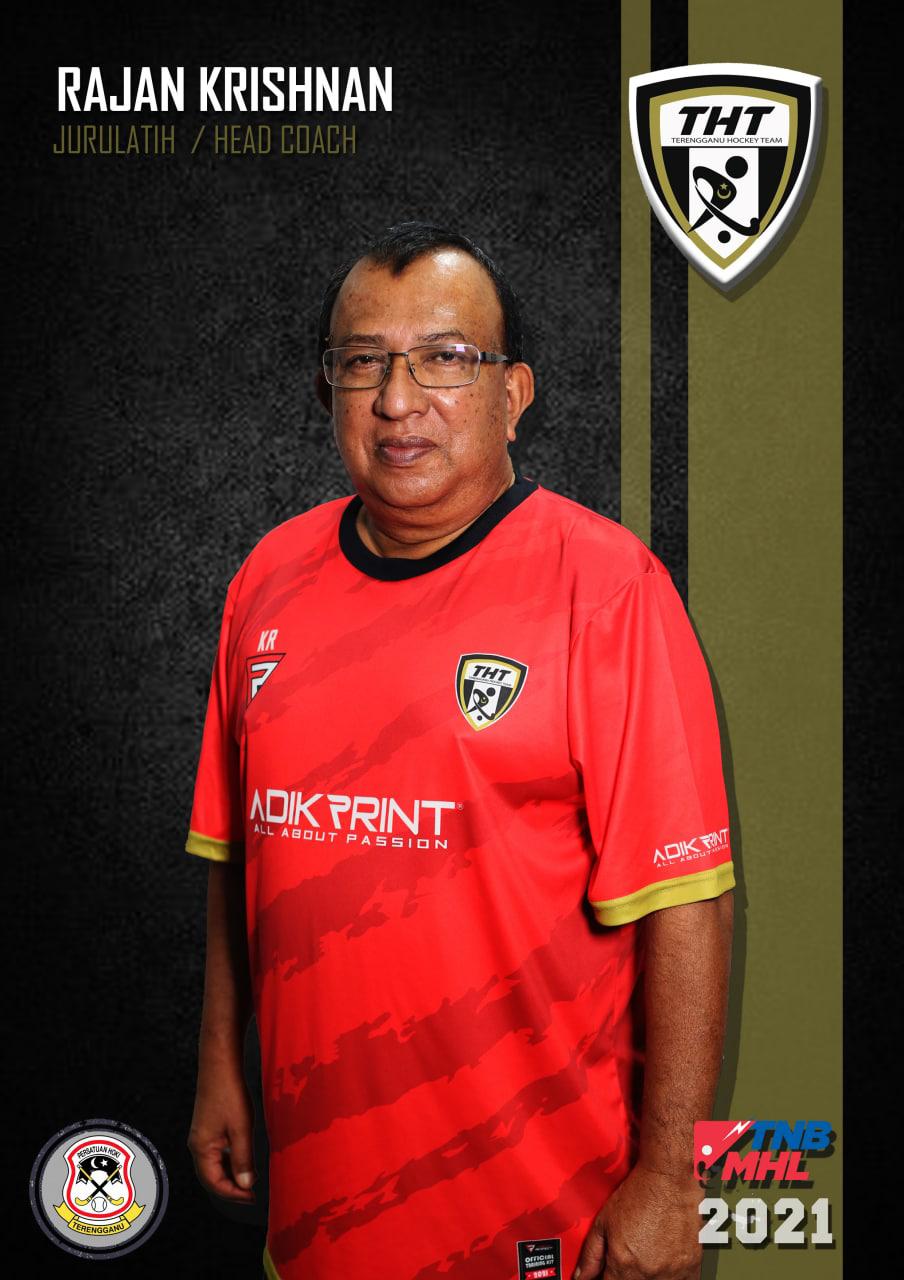 K. Rajan dilantik sebagai ketua jurulatih Terengganu Hockey Team bagi mengharungi kempen Liga Hoki Malaysia 2021. Kredit Foto - Terengganu Hockey Team