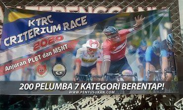 KTRC Criterium Race: Kayuhan Tengkujuh 200 Pelumba 7 Kategori