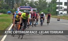Sorotan KTRC Criterium Race - Lelaki Terbuka
