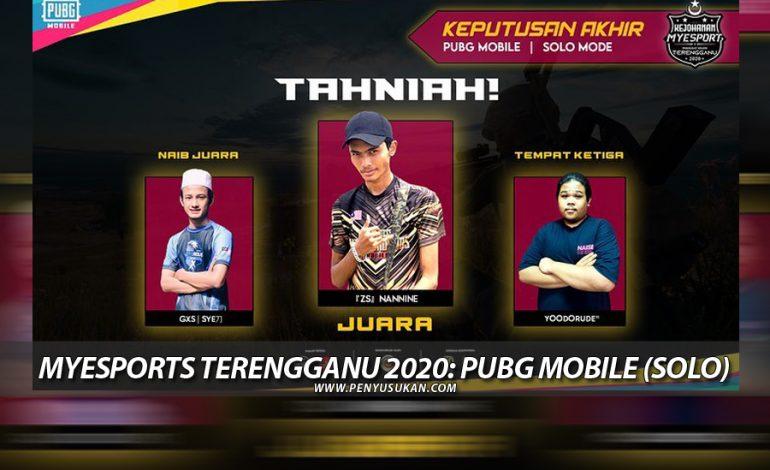 MyEsports Terengganu: ZS NanNine Ungguli PUBG Mobile