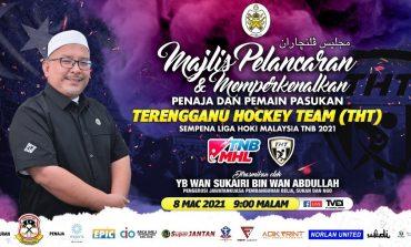Majlis Pelancaran Jersi dan Memperkenalkan Penaja dan Pemain Pasukan Terengganu Hockey Team 2021