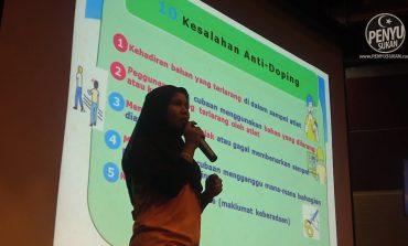 SUKMA 2020: Terengganu Titik Berat Kesedaran Anti-Doping
