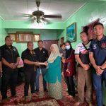 PenyuSukan - Persatuan Ragbi Negeri Terengganu Ziarah Pemain Ragbi Wanita -001