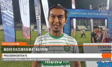 Kerteh FC Ungguli Liga Amatur Terengganu - Reaksi Presiden Kerteh FC