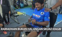 Ramadhan Bukan Halangan Skuad Ragbi Terengganu