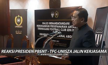 Reaksi Presiden PBSNT: TFC-UniSZA Jalin Kerjasama